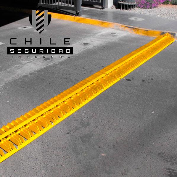 Revienta neumáticos Chile Seguridad