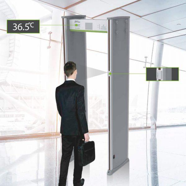 Detector de Metales con Detección de Temperatura Corporal